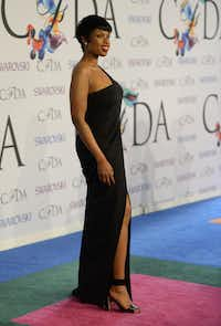 Jennifer Hudson attends the 2014 Council of Designers of America Awards (CFDA) at Alice Tully Hall at the Lincoln Center June 2, 2014 in New York City. AFP PHOTO / Timothy  A. CLARYTIMOTHY A. CLARY/AFP/Getty ImagesTIMOTHY A. CLARY - AFP/Getty Images