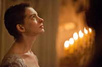 Anne Hathaway stars as Fantine in Les Miserables.