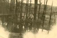 Lily Sternberg, Claire Sternberg and Magda Sternberg, after the war. The three sisters survived Auschwitz together.(Martin, Naomi -  Naomi Martin )