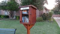 Little Free Library Number 8067 at 1811 Park Meadow Lane in Richardson, TX