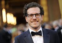 Brian Selznick arrives before the 84th Academy Awards on Sunday, Feb. 26, 2012, in the Hollywood section of Los Angeles. (AP Photo/Chris Pizzello)