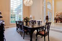 Another view of the formal dining room.