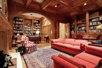 Another view of the study.