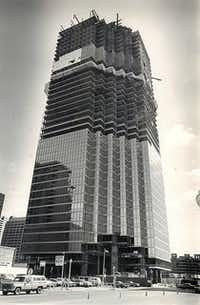 When the tower opened, it was the tallest building in Dallas. Thirty years later, it still is.( Terry Van Sickle   -  DMN file photo )