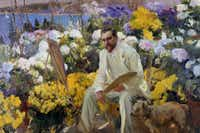 Sorolla's 1911 portrait of Louis Comfort Tiffany is included in the exhibition.