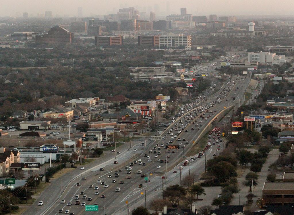 Image result for dallas freeway traffic