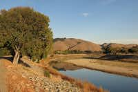 A nature trail along Alameda Creek runs just south of Niles, Calif., toward the Quarry Lakes Regional Recreation Area.(Amy Laughinghouse - Copyright Amy Laughinghouse)