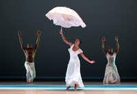 """Alvin Ailey American Dance Theater performed """"Revelations"""" in May at the Winspear Opera House."""