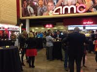 This photo comes from the city of Addison's website, when officials there went to the opening of the AMC multiplex in November