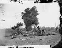 Dead on the battlefield at Antietam, Maryland, September 1862.