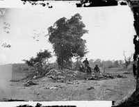 Dead on the battlefield at Antietam, Maryland, September 1862.