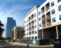 More than 23,000 apartments were under construction.