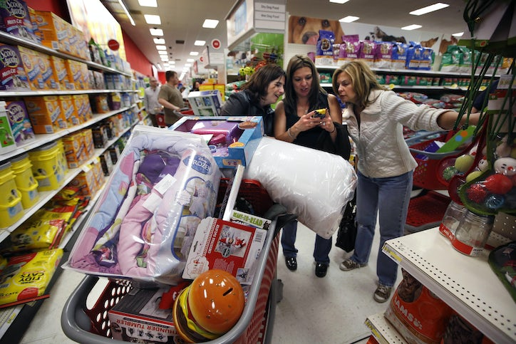 The smell of bargains in the morning: Crazy Black Friday