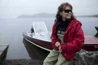 In  2010, the former Republican vice presidential candidate and Alaska governor showcased her home state for a reality TV show.  (AP Photo/TLC, Gilles Mingasson)