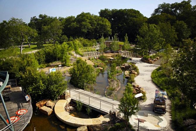 Dallas Arboretum Children S Garden Taking Shape As An Outdoor Science Museum News Dallas News