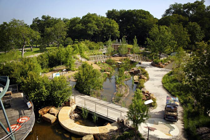 Dallas Arboretum Children S Garden Taking Shape As An Outdoor Science Museum News Dallas News
