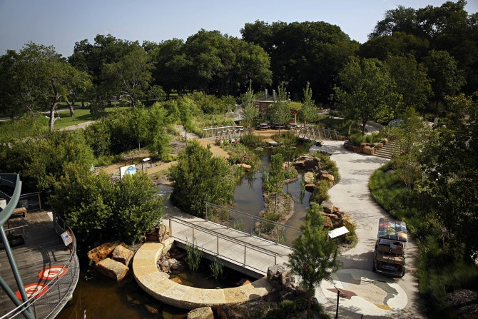 Dallas Arboretum Childrenu0027s Garden Taking Shape As An Outdoor Science  Museum | News | Dallas News