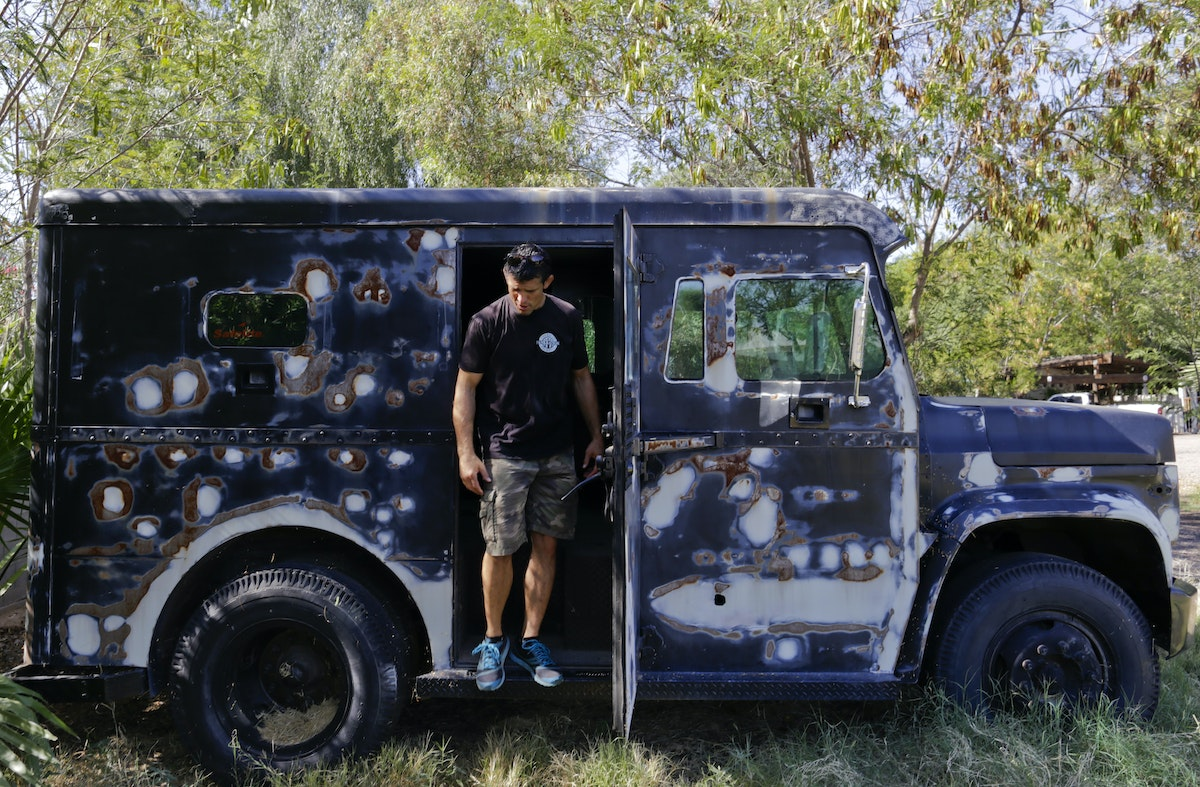 Privately Owned Armored Trucks Raise Eyebrows After Dallas Police