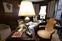 The den can be described as one room in the house that is unmistakeably Louis.'( Frank Franklin II  -  The Associated Press )