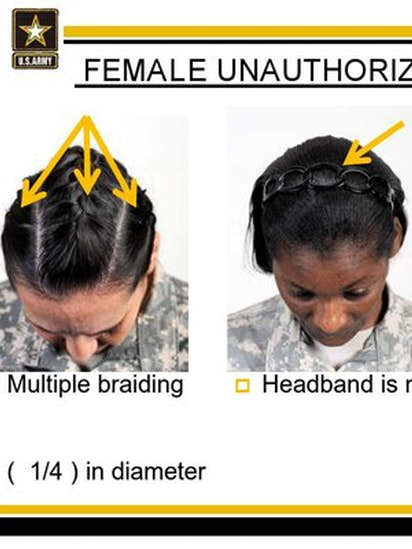 Army Ban On Hairstyles Including Dreadlocks Cornrows Prompts