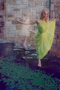 Lea Zablocki (foreground) and Whitney Hart in Doppelganger(Alisa Eykilis)