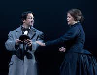 "Nathan Gunn and Susan Graham performed in the Dallas Opera's revival of ""The Aspern Papers"" in the spring. The Dallas Opera staged the world premiere of the work 25 years ago."