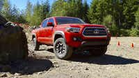 In an undated handout photo, a 2016 Toyota Tacoma. With an upgraded structure, a reduction in noise and more, the 2016 model is a far better truck than the one it replaces. (Martin Campbell via The New York Times)