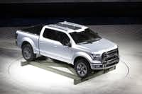 Ford's Atlas concept pickup offers an idea of what the next F-150 may look like. It has an assist system that helps drivers back up with a trailer.