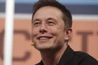 Tesla CEO Elon Musk gives the opening keynote at the SXSW Interactive Festival in Austin in 2013. (File Photo/The Associated Press)