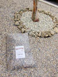 Azuza Soft Rock can be used for landscaping around trees and bushes.none given