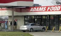 Adams Food Mart, at the intersection of St. Augustine Drive and Bruton Road, has been plagued by crime. (2015 Staff Photo/Vernon Bryant)
