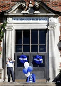 CityLab could go in the old Adamson building in Oak Cliff. (Rose Baca/Staff photo)