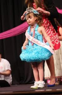 Adlyn Sweny, 8, has participated in the Miss Sweetheart Special Needs Pageant for 5 years. The experience has helped her build self-confidence and enhanced her social, skills according to her mom.