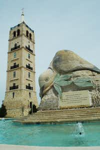 Adriatica's bell tower is one of the most iconic areas of the village.