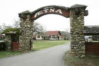 Aetna Springs Resort was originally developed in the 1870s.