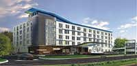 The Aloft Hotel on North Central Expressway will open in 2018. (Trademark)