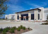 Amazon.com's new fulfillment center in Fort Worth at 15201 Heritage Parkway.