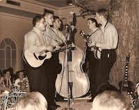 The Townsmen singing group performed in the 1960s.Photo submitted by STEVE PHILLIPS