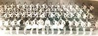 Members of the 1964-65 Highlandettes drill team pose for a group shot.Photo submitted by KAREN CLARDY