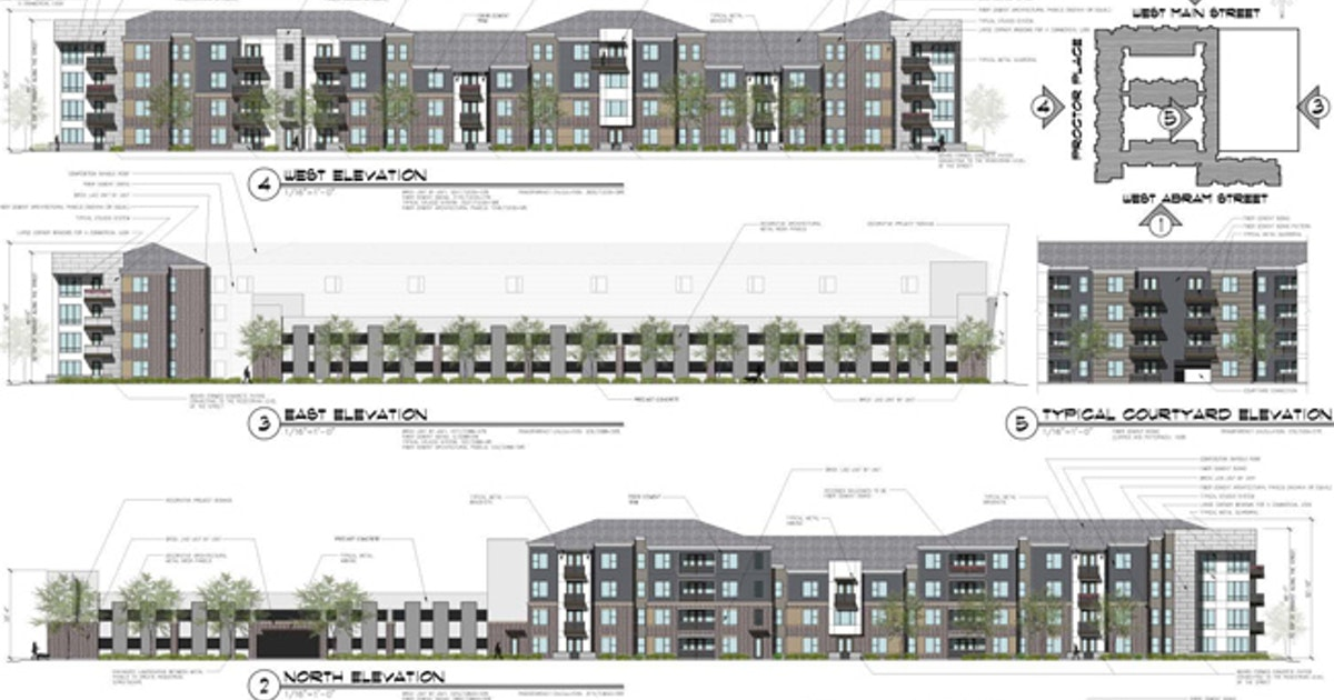Arlington council approves 169-unit apartment complex near UTA ...