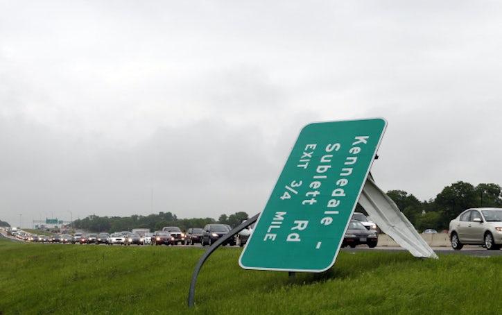 Arlington Tornado Damage Dallas News Photos Dallas News