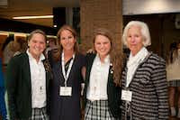 Augusta Aston, Juliette Aston, Ali Aston and Jerrie Marcus Smith have all attended Hockaday.