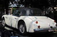 A 1967 Austin Healey sports car was delivered to a Southlake man last month.