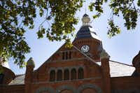 The former Dallas County courthouse tower was rebuilt and finished in 2007. The courthouse now houses the Old Red Museum of Dallas County History & Culture.Brittany Sowacke  -  Staff Photographer