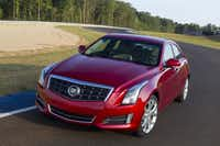 The 2013 Cadillac ATS.