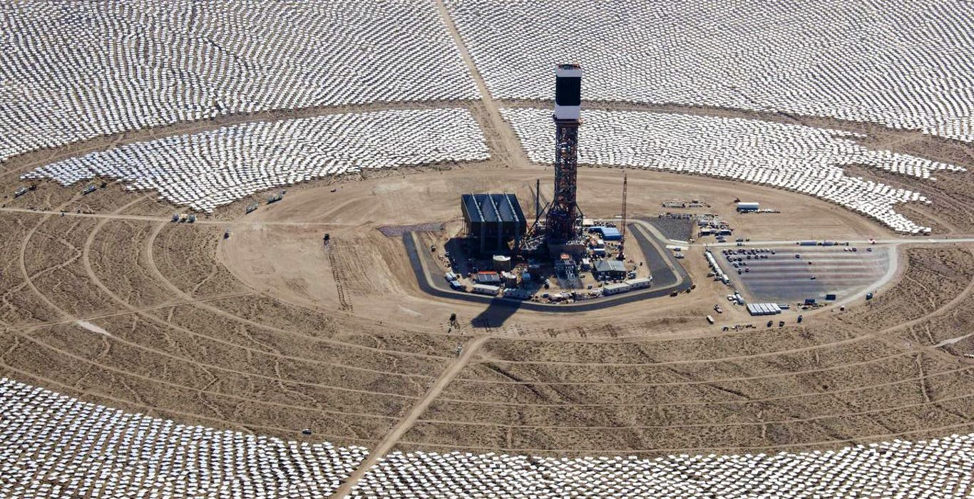 Solar and wind power surge as drilling and mining falter