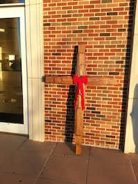 Cross after renovationCourtesy of St. Andrew United Methodist Church - St. Andrew United Methodist