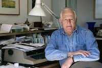 Author James Salter in 2005