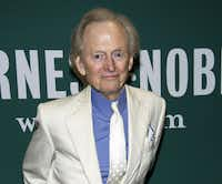 "Tom Wolfe at a book signing for his novel ""Back to Blood"" last month in New York."