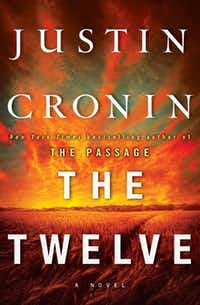 """This book cover image released by Ballantine shows """"The Twelve,"""" by Justin Cronin. Cronin follows his best-selling """"The Passage"""" with """"The Twelve,"""" the second of a planned trilogy, on Oct. 16, 2012."""